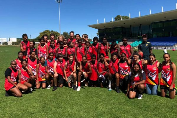 Boarding Students at the Nicky Winmar Cup