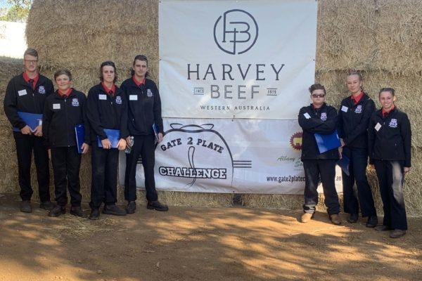 Cattle Club students at the Gate to Plate Challenge